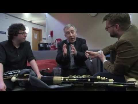 Web exclusive: Steven Rainey's backstage interview with Neil Martin and Conor Mallon