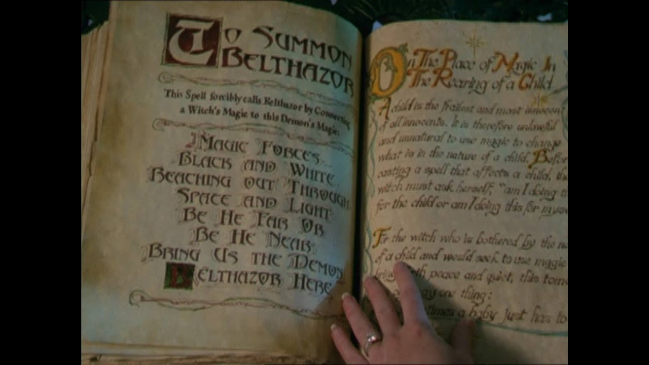 El Libro De Las Sombras ¿Cómo Tener Nuestro Libro Mágico
