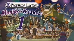 Let's Play Professor Layton und die Maske der Wunder [Blind / German / HD / 100%]