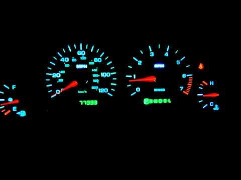 2004 Dodge Grand Caravan Dash Light Conversion