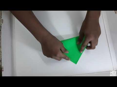 Origami easy dustbin