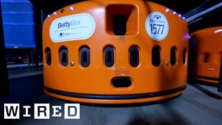 "High-Speed Robots Part 1: Meet BettyBot in ""Human Exclusion Zone"" Warehouses-The Window-WIRED"