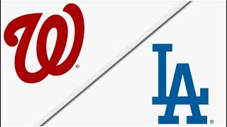 Washington Nationals vs Los Angeles Dodgers | Full Game Highlights | 4/22/18