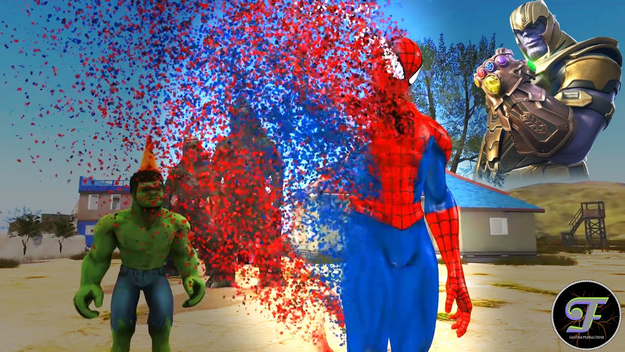 End of the party | Thanos did it | spiderman evaporation