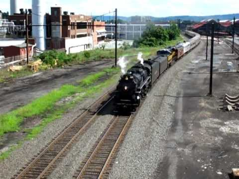 NKP 765 Final Pass w/ PRR Whistle - Harrisburg, PA 8 18 2012 by  capnskullnbones