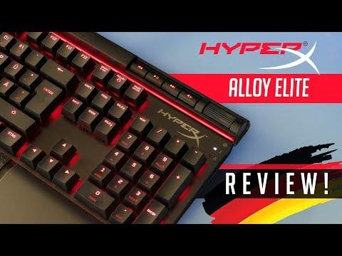 HyperX Alloy Elite Gaming Tastatur - Mit Liebe zum Detail!