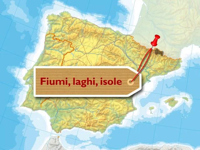 Cartina Rilievi Spagna.La Penisola Iberica Youtube