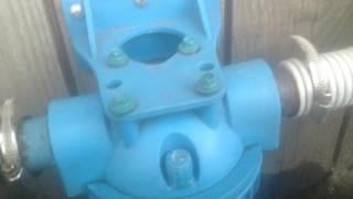 видео песчаный фильтр для бассейна своими руками