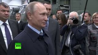 путин поздравил рабочих концерна калашников с днем оружейника