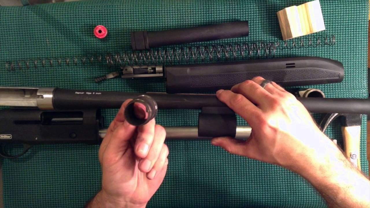 Diy Tristar Raptor Shotgun Tear Down And Improvements