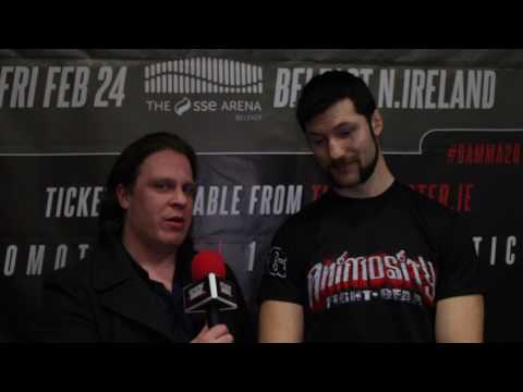 Interview with Will Fleury after BAMMA 28