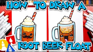 How To Draw Funny Root Beer Float