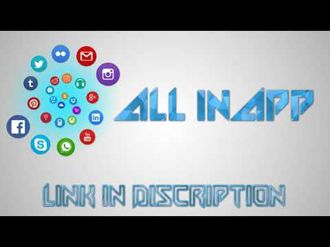 ALL IN APP : Social Media, News, Online Shopping, App Store, Weather