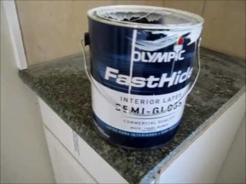 Olympic Fasthide Interior Paint Review   Cheap And Disappointing