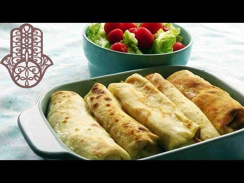 crêpes-jambon-fromage-à-la-béchamel