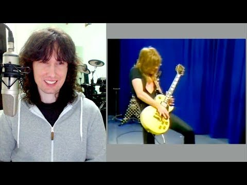 British guitarist reacts to Randy Rhoads own CLASSICAL brand of Heavy Metal!