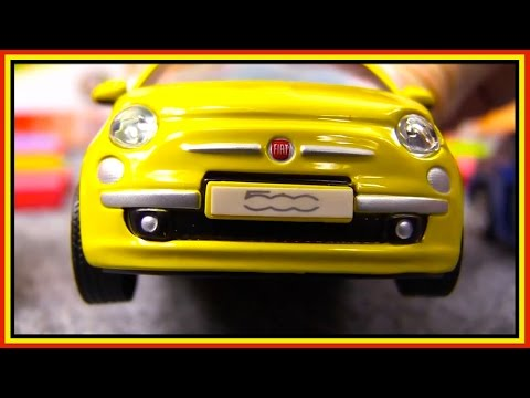 5-CAR CRASH Compilation #4! Bussy & Speedy Bburago Toy Car Construction for kids. Videos for kids