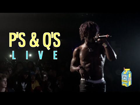 Download Lil Uzi Vert - P's & Q's (Live Performance)