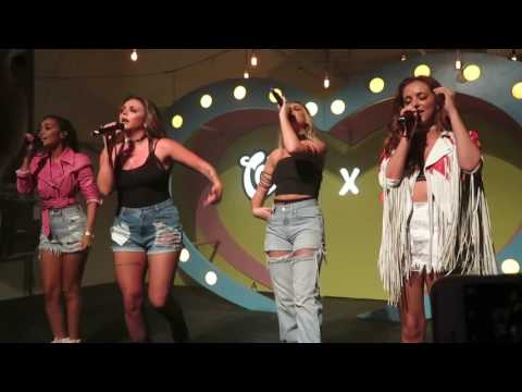 Little mix - Little me at cornetto event (clip)
