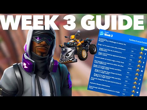How To Complete The Season 9 Week 3 Challenges FAST In Fortnite Season 9 | Week 3 Challenge Guide