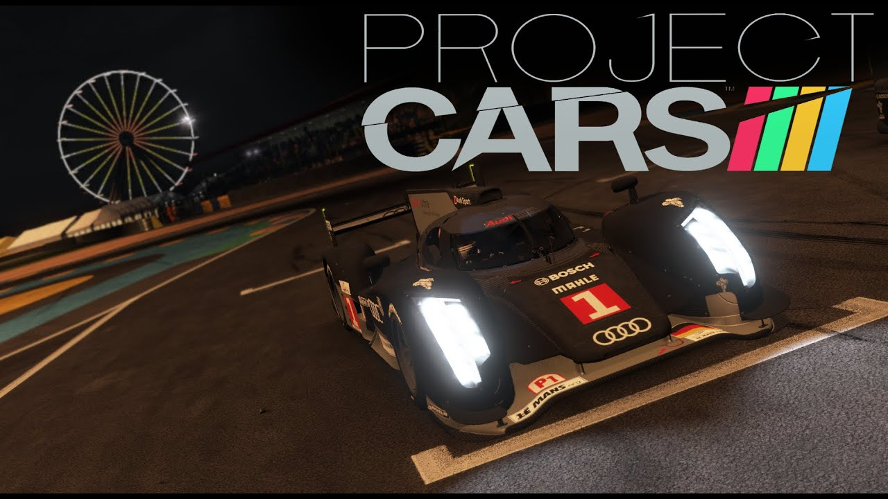 Project Cars Gameplay Le Mans Hour Day Night Race Youtube