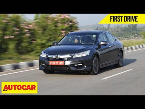 Honda Accord Hybrid | First Drive | Autocar India