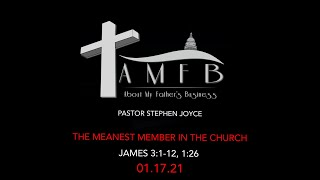 AMFBGRACE - THE MEANEST MEMBER IN THE CHURCH - 01.17.21
