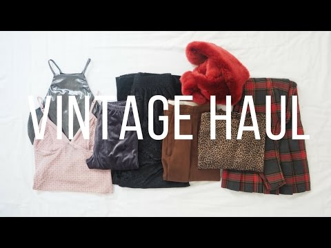 Vintage Fashion Haul and Try On | Fashion Et Moi