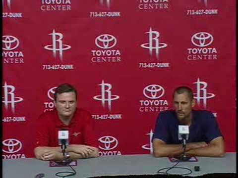 Brent Barry Joins the Rockets