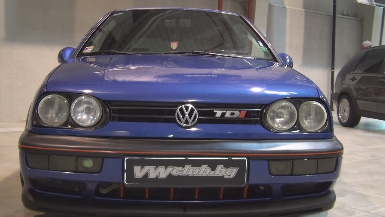 volkswagen golf iii 1 9 tdi afn 1997 exterior and interior in 3d youtube. Black Bedroom Furniture Sets. Home Design Ideas