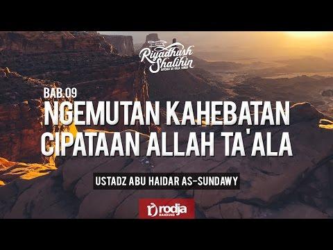 Ryadushshalihin Bahasa Sunda : Bab 09  - Ustadz Abu Haidar As Sundawy