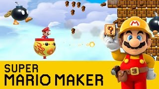 Super Mario Maker -  Bomb Bounce
