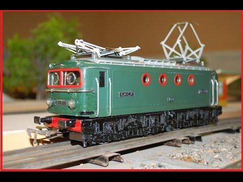 train jouet ancien bb 8101 jep 0 trains miniatures. Black Bedroom Furniture Sets. Home Design Ideas