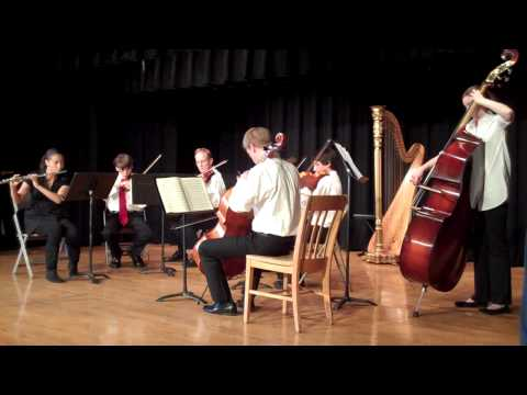 YOEC Chamber Concert (yoec.org) - Flute Quartet in D Major, K.285, W.A. Mozart.MP4