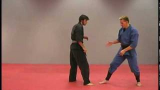 How to perform Martial Arts Forward Roll by Sensei Rick Tew and NinjaGym.com