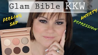 KKW Beauty Glam Bible Palette | Chatty GRWM When Life is Tough | Mature Beauty
