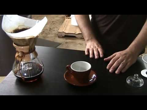 How Does Chemex Coffee Maker Work : How to make a great cup of coffee with a Chemex coffee maker - YouTube