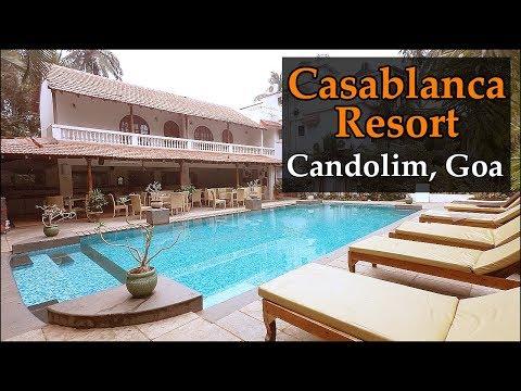Casablanca Resort Candolim Beach Goa