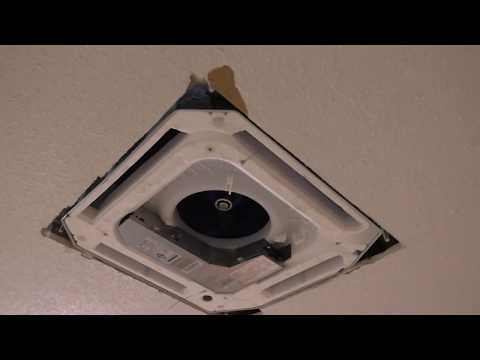 Installing a Pioneer Mini split Cassette into a Florida Attic