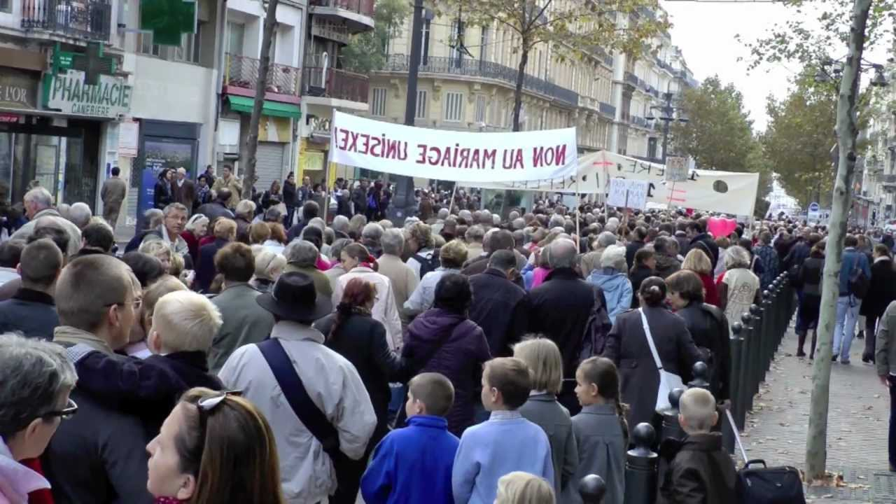 la manif pour tous marseille le 17 novembre 2012 youtube. Black Bedroom Furniture Sets. Home Design Ideas