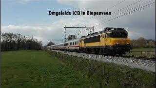 NSI 1739 passeert met een omgeleide IC Berlijn Diepenveen!