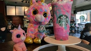 UNICORN FRAPPUCCINO at Starbucks