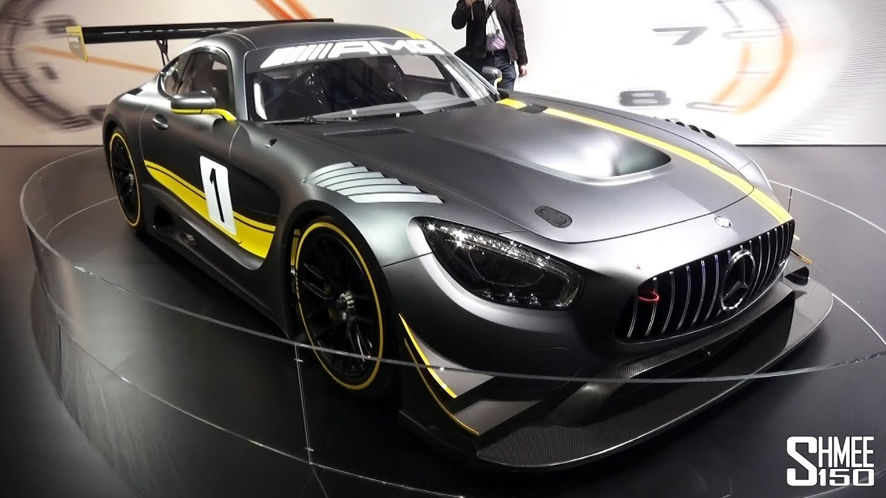 First Look Mercedes Amg Race Car Geneva Youtube