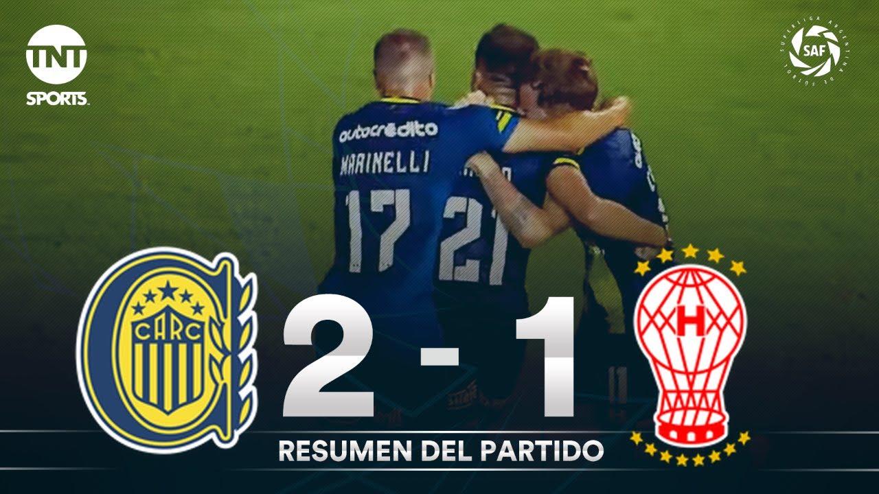 Resumen de Rosario Central vs Huracán (2-1)   Fecha 17 - Superliga Argentina 2019/2020