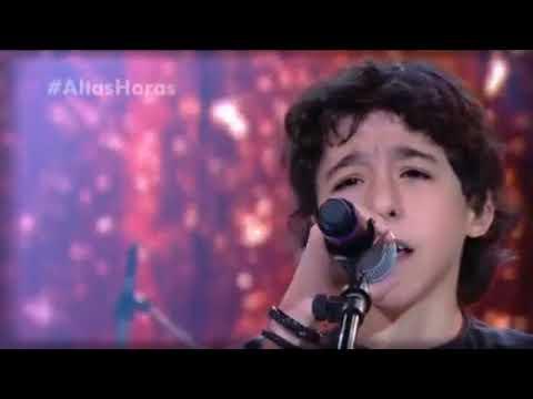 Enzo Rabelo, filho de Bruno, Dupla de Marrone canta no Altas Horas 21/07/2018