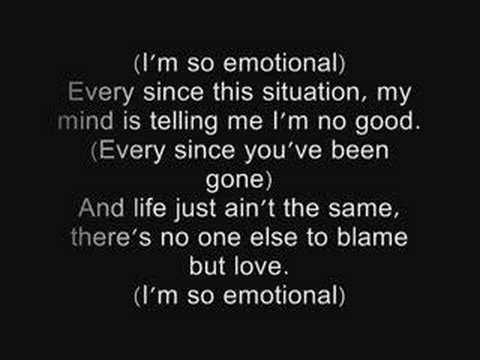 one chance-so emotional lyrics