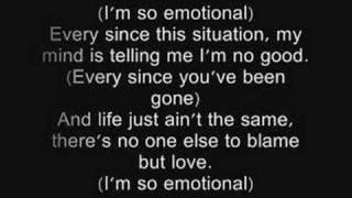 one chance-so emotional lyrics