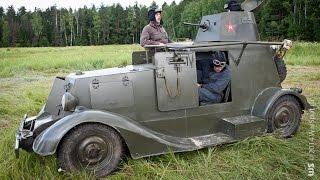 Военная Победа на базе Газ-М1 - Танк (стоит увидеть)