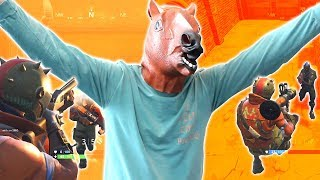 HOW MANY FORTNITE KILLS CAN I GET WITH HORSE MASK ON!?