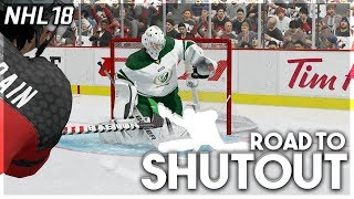 NHL 18 ROAD TO SHUTOUT #7 *MY WORST GAME EVER*